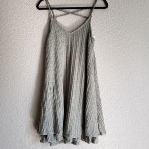 Scrappy A-line dress